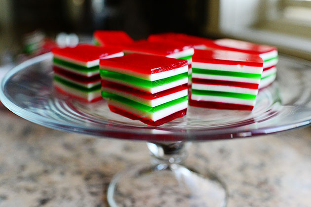 Christmas Finger Jello Recipe