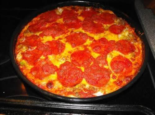 "Deep Dish Pizza Recipe(MRD Style) ""Love the crust, it's a great recipe -..."