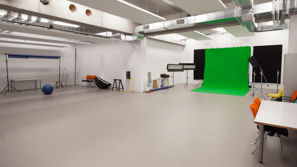 Animationsstudio der University of Applied Sciences Europe