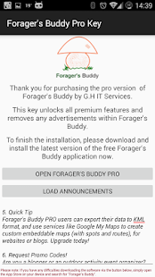 Forager's Buddy Pro Key Screenshot