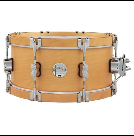 "14"" x6,5"" PDP Concept Classic Maple Virveltrumma - Natural Finish"