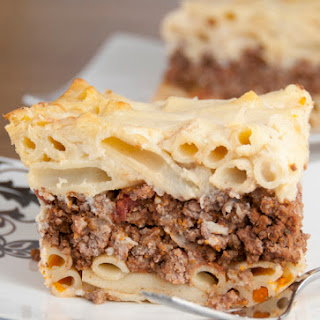 Pastitsio Greek Pasta Bake