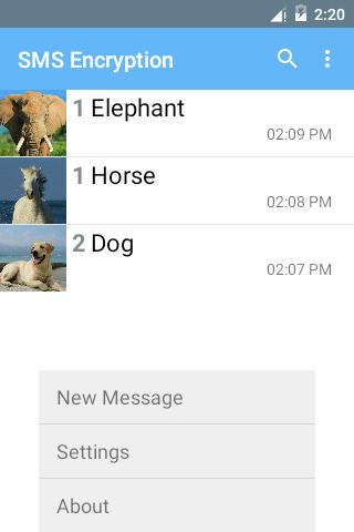 SMS Encryption (Free) screenshot 6