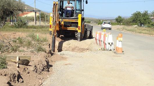 Mejoras en las redes de agua de Arboleas para culminar el Plan Hídrico