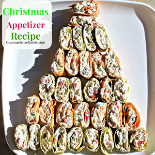Christmas Pinwheel Appetizers Recipes