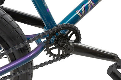 "Radio 2019 Valac 20"" Complete BMX Bike 20.75"" TT Cyan Purple Fade alternate image 4"