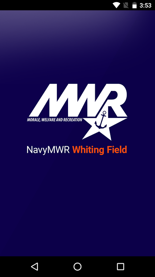 NavyMWR Whiting Field- screenshot