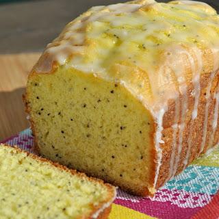 Easy Glazed Lemon Poppy Seed Bread.