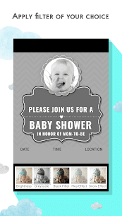Baby Shower Invitation Card Maker 6