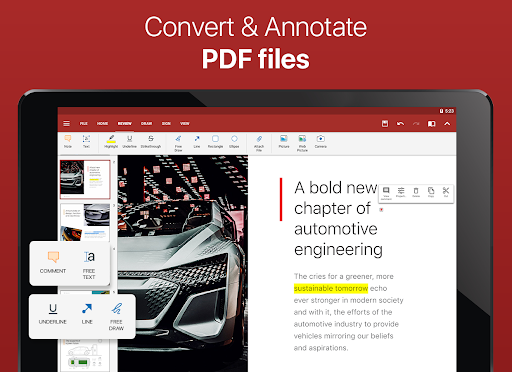 OfficeSuite - Office, PDF, Word, Excel, PowerPoint screenshot 10