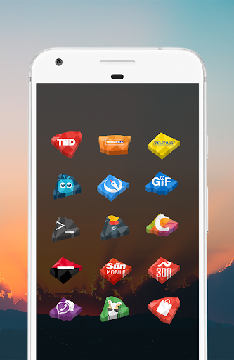 Crystal Icon Pack app for Android screenshot