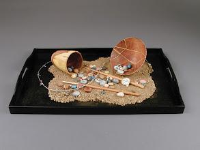 Photo: Executive Order 9066: Gila River  Lynne Yamaguchi, turner Terry Yoshimura Bendt, beadmaker