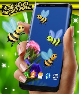 Bumble Bees on Your Screen - náhled