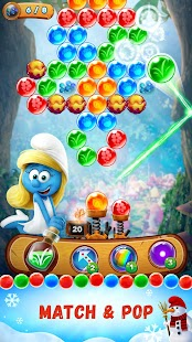 Smurfs Bubble Story - náhled