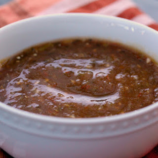 Tomato & Tomatillo Salsa