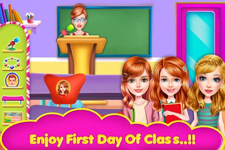 School Teacher Girls Classes 5