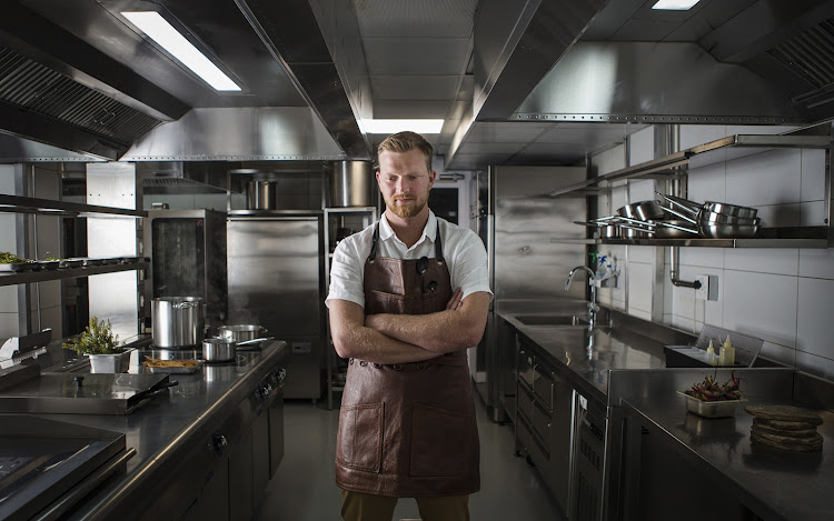 Gåte Restaurant head chef Jack Coetzee.