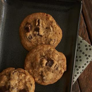 Bourbon Pecan Chocolate Chip Cookies.