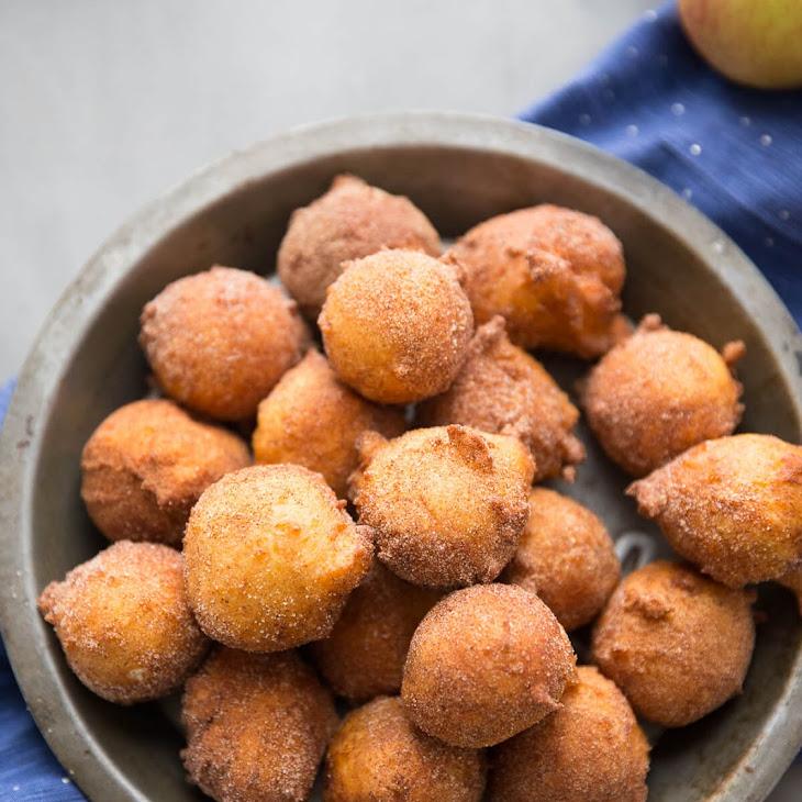 Apple Spice Ricotta Donuts Recipe