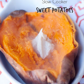 Slow Cooker Sweet Potatoes.