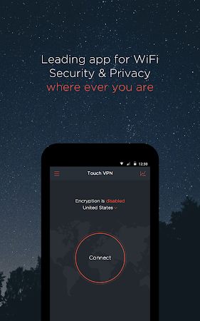 Free Unlimited VPN | Touch VPN 2.7.4 screenshot 127411