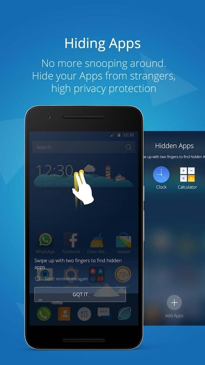 CM Launcher 3D Pro? Android 5