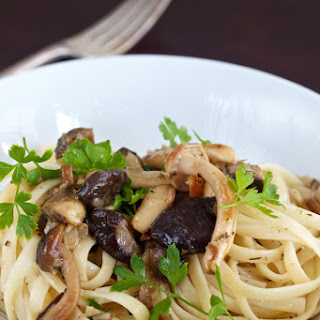 Pasta with Wild Mushrooms.