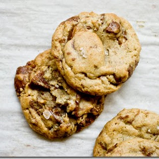 Peanut Butter Cup Heath Bar Brown Butter Cookies
