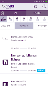 beIN SPORTS CONNECT screenshot 3