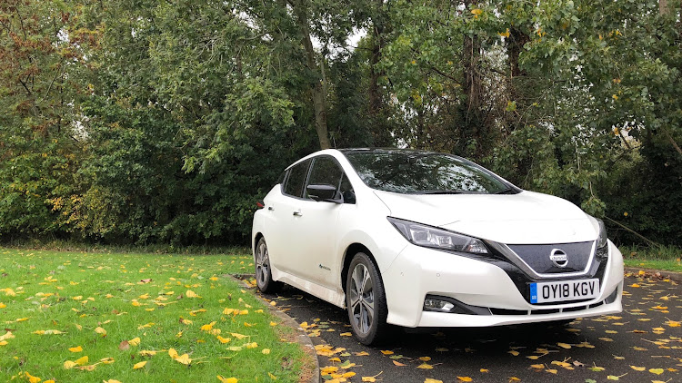 The new Nissan Leaf is a much better looking car than the first generation Picture: MARK SMYTH