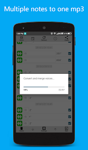 Convert Merge Opus Voice Note to Mp3 for WhatsApp Download For Android 3