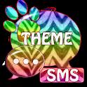 Theme Zebra GO SMS icon