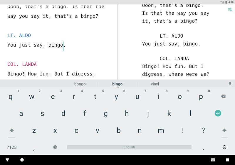 JotterPad - Writer, Screenplay, Novel Screenshot 19