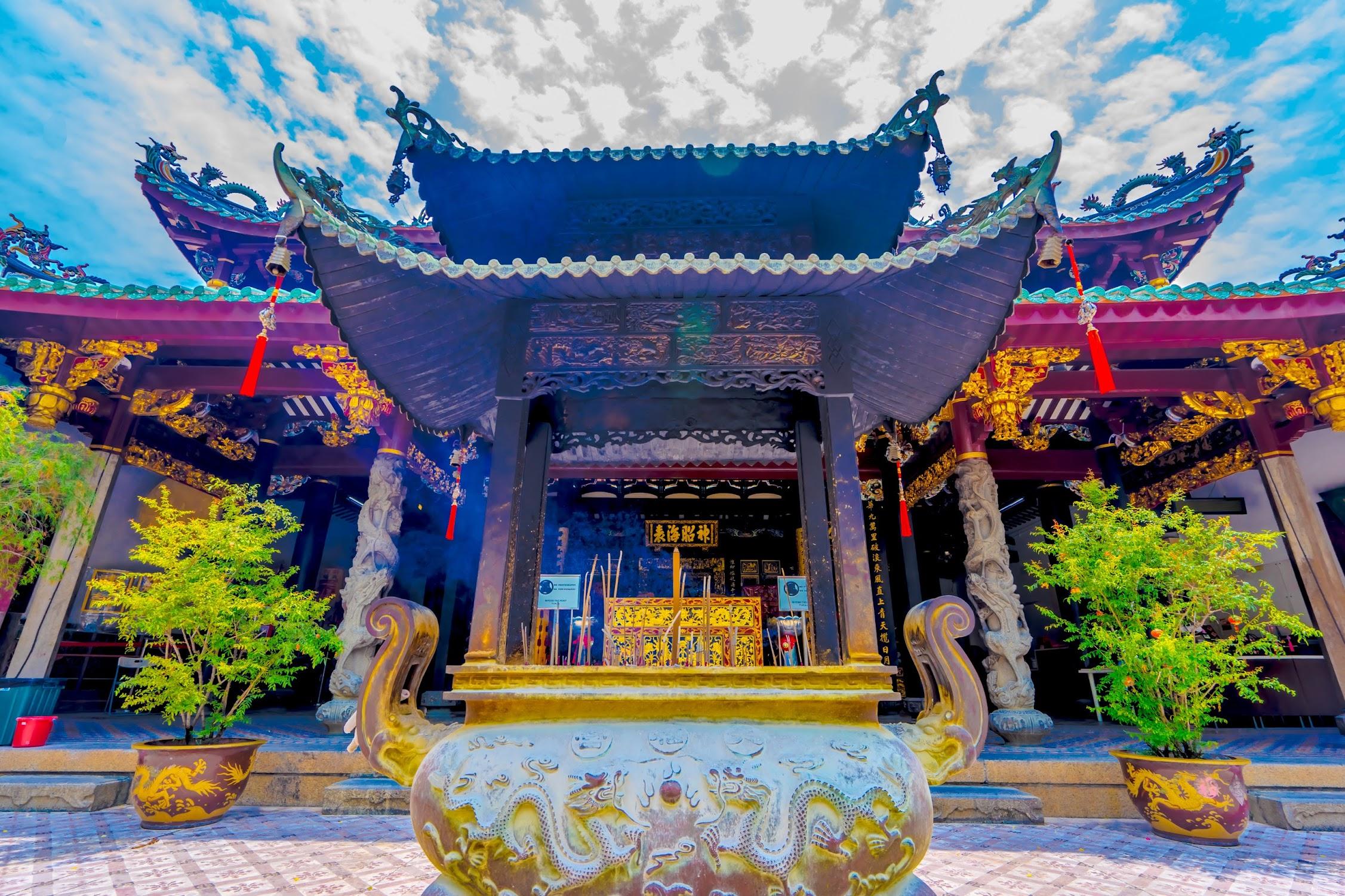 シンガポール シアン・ホッケン寺院4