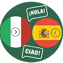Italian Spanish translator icon