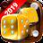 Backgammon Live - Play Online Free Backgammon Icône