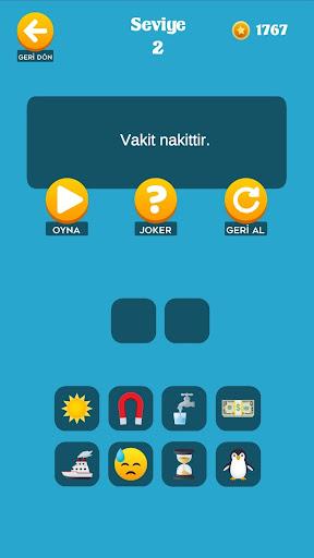 Emoji Bil - Atasözü ve Deyimler 0.6 screenshots 1