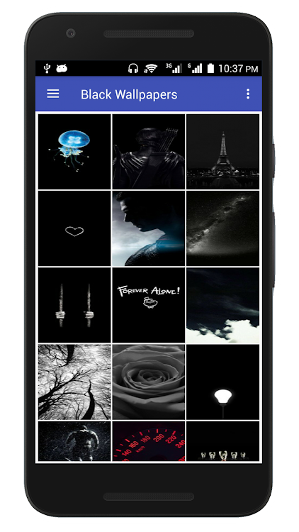 Black Wallpaper Hd Dark Backgrounds Amoled Android Apps