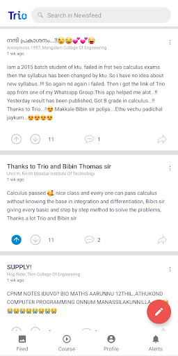 Trio - KTU Tuition Learning App 1.9.4 screenshots 1