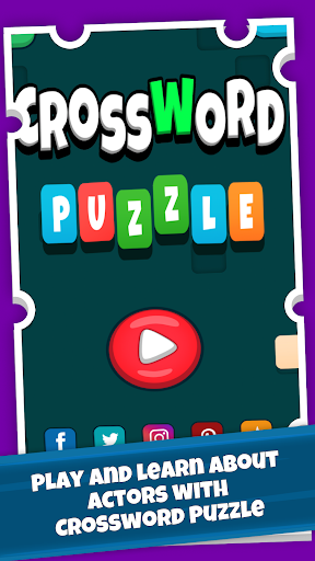 Code Triche Actors Crossword Puzzle Game, Guess Hollywood Name APK MOD screenshots 1