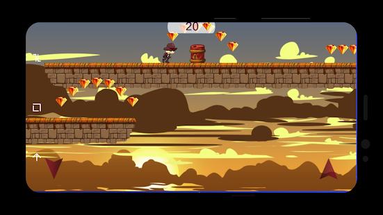 Game Adventure Western Hatboy runner old dashing cowboy APK for Windows Phone