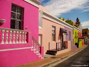 Photo: AFRIQUE DU SUD-Le quartier de Bo-Kaap à Cape Town.