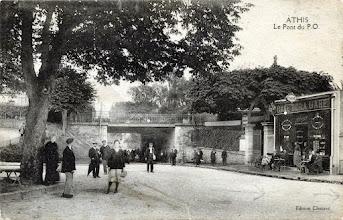 Photo: ATHIS - Le Pont du P.O. - Édition Chotard