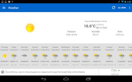 Breaking News & Weather 2.3.2 screenshot 1827633