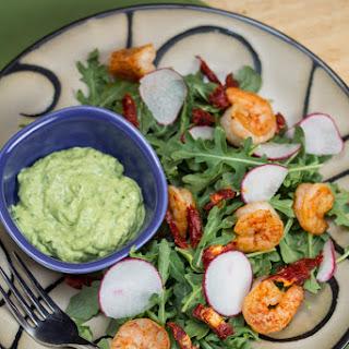 Smoky Shrimp Salad with Green Goddess Dressing
