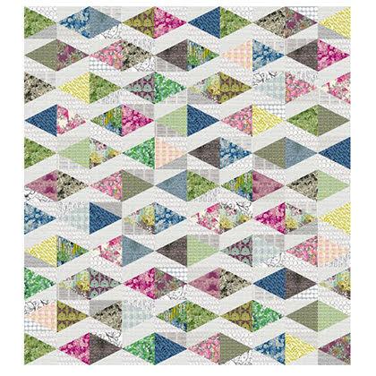 Triad Free Quilt Pattern