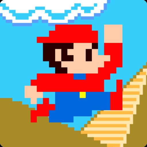 アクションゲーム「スーパージャンプ」 動作 App LOGO-硬是要APP