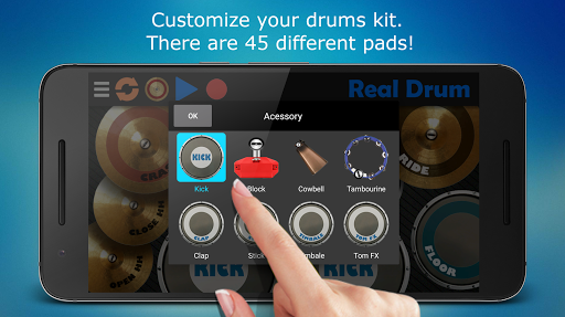 Real Drum - The Best Drum Pads Simulator screenshot 7