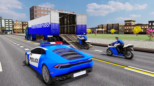US Police Transporter Plane Simulator 2.1 screenshots 1