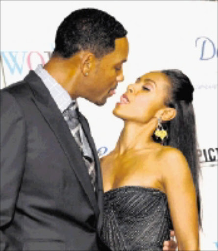 LETTING IT ALL HANG OUT: Will Smith and wife Jada